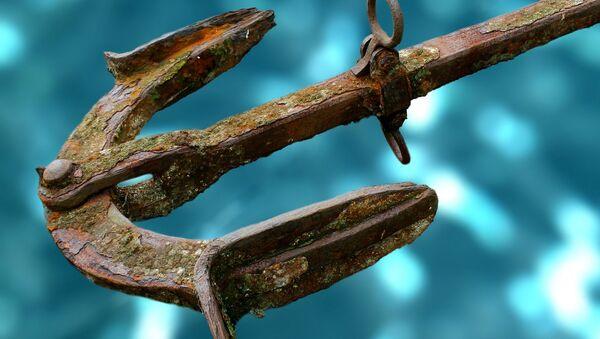 Una ancla de hierro (imagen referencial) - Sputnik Mundo