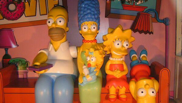 Los Simpsons - Sputnik Mundo