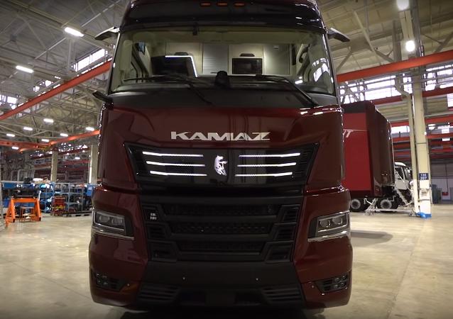 Un camión Kamaz (imagen referencial)