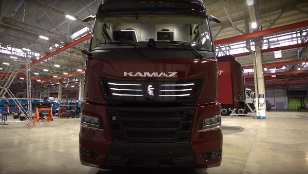Un camión Kamaz (imagen referencial) - Sputnik Mundo