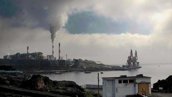 Planta de Pellets, en Huasco, Antofagasta - Sputnik Mundo