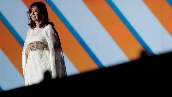 Cristina Fernández, vicepresidenta de Argentina - Sputnik Mundo
