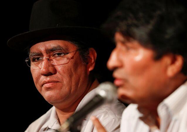 Diego Pary, excanciller de Bolivia