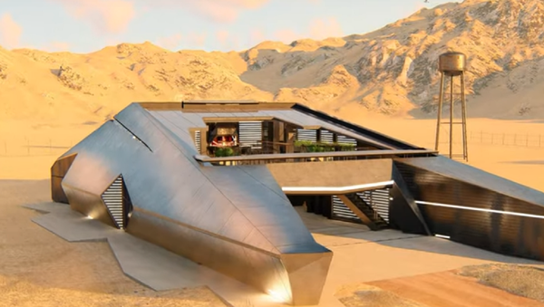 Cyberhouse, el complemento de la arquitectura rusa al Cybertruck de Tesla  - Sputnik Mundo