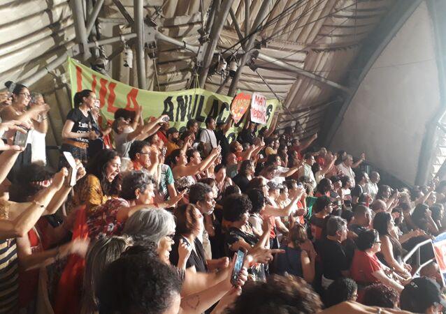 El expresidente brasileño Luiz Inácio Lula da Silva agradece a artistas su apoyo durante su estancia en prisión y critica el desmonte de la cultura en el Gobierno de Jair Bolsonaro