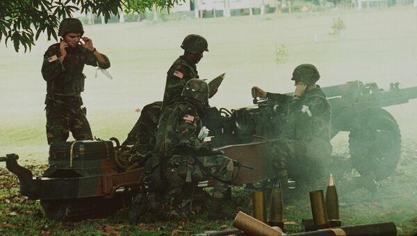 Militares de EEUU en Panamá en 1989 - Sputnik Mundo