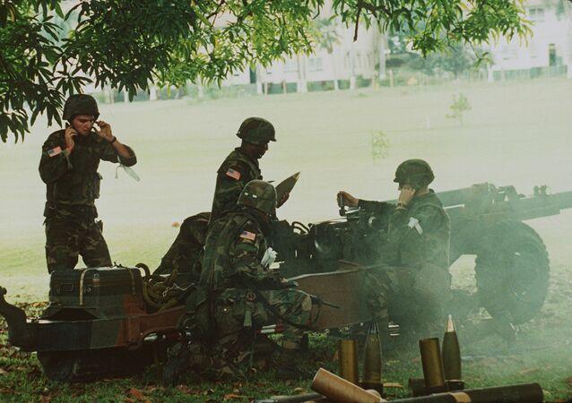 Militares de EEUU en Panamá en 1989