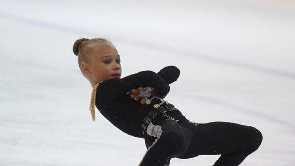Veronika Zhílina, patinadora artística rusa - Sputnik Mundo