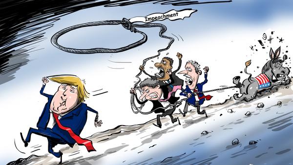 El 'burro' republicano no permitirá a los demócratas apretar la horca sobre el cuello de Trump - Sputnik Mundo