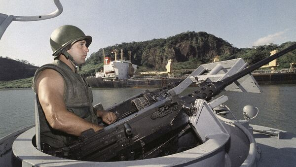 Soldado estadounidense en Panamá - Sputnik Mundo