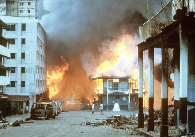 Consecuencias de la invasión estadounidense de Panamá