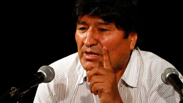 Evo Morales, derrocado expresidente boliviano  - Sputnik Mundo