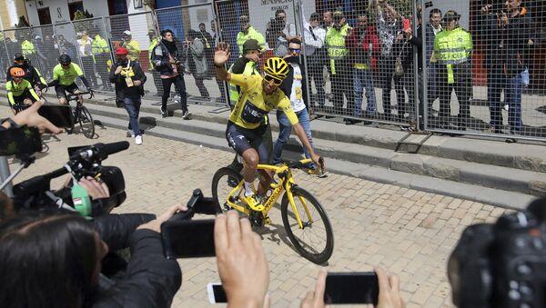 Egan Bernal, ciclista colombiano (archivo) - Sputnik Mundo