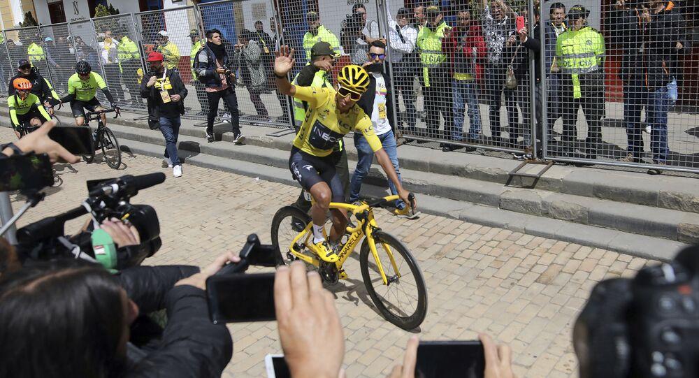 Egan Bernal, ciclista colombiano (archivo)