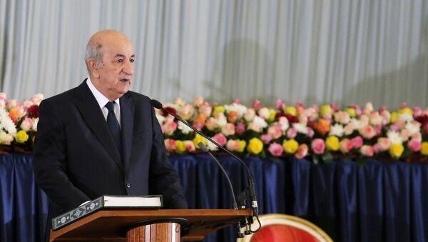 Abdelmadjib Tebboune, presidente electo de Argelia - Sputnik Mundo