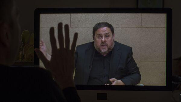 Oriol Junqueras, exvicepresidente catalán (archivo) - Sputnik Mundo