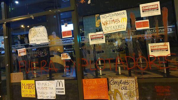 McDonald's en Perú - Sputnik Mundo