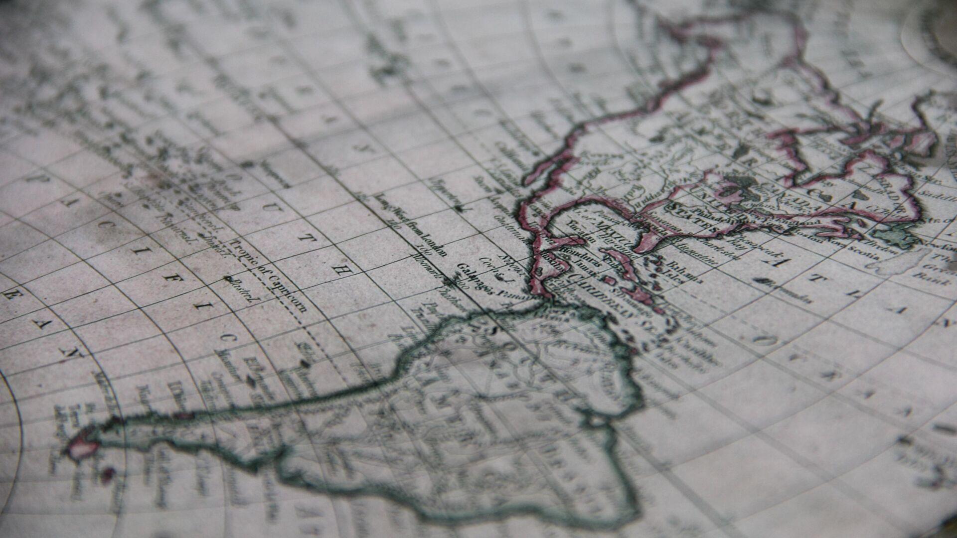 Mapa de América Latina (imagen referencial) - Sputnik Mundo, 1920, 21.04.2021