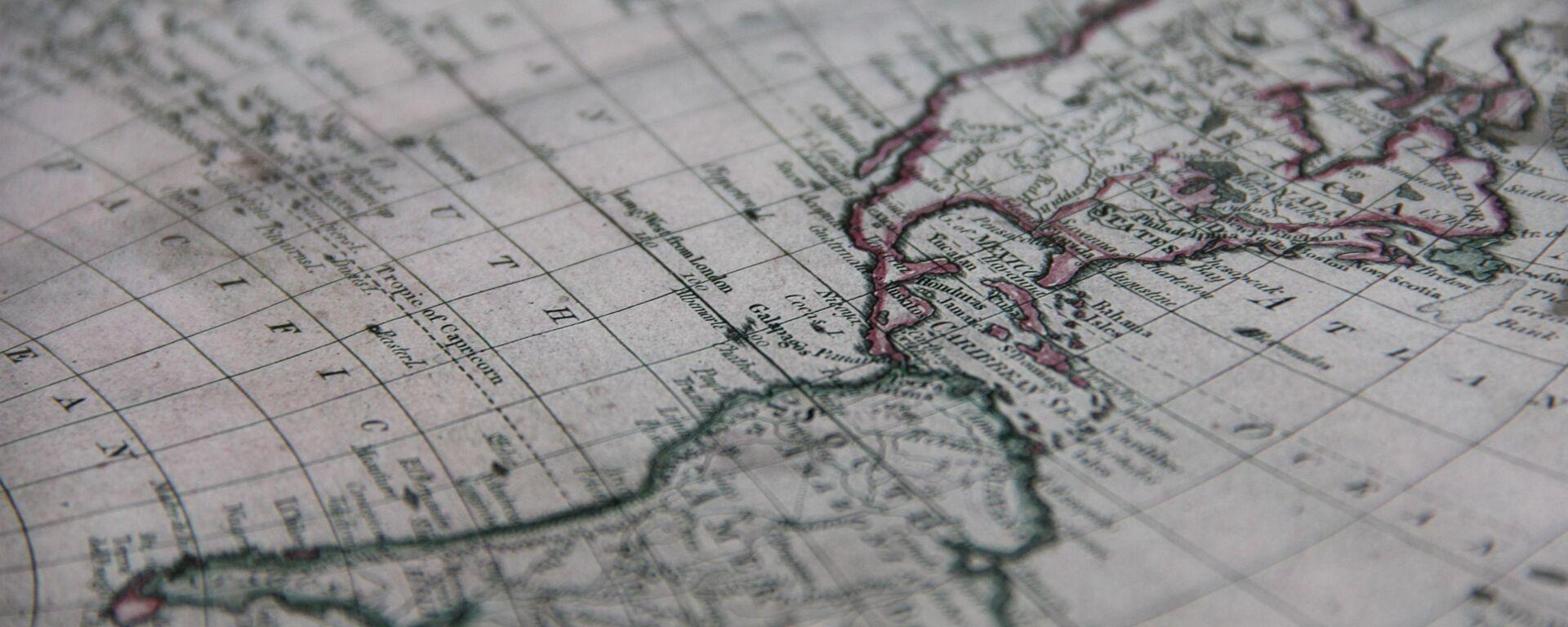 Mapa de América Latina (imagen referencial) - Sputnik Mundo, 1920, 02.07.2020