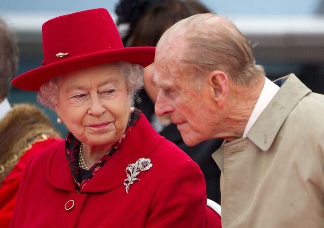 Felipe, el esposo de la reina Isabel II del Reino Unido