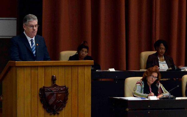 La IV sesión ordinaria de la Asamblea Nacional de Cuba en su IX Legislatura - Sputnik Mundo