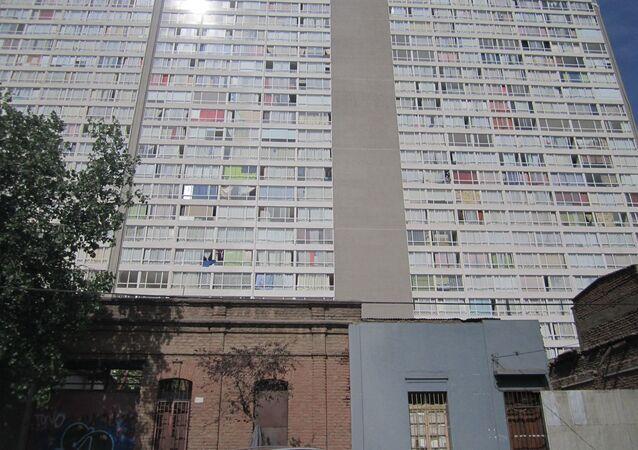 Guetos verticales, en la comuna Estación Central de Santiago de Chile