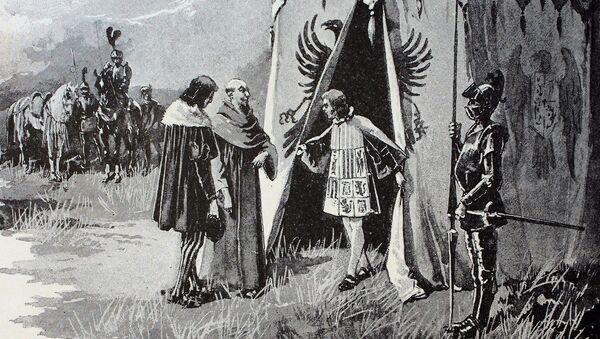 Colón en el Real de Santa Fé - Sputnik Mundo