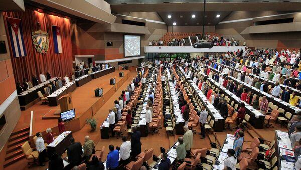 Asamblea Nacional el Poder Popular de Cuba - Sputnik Mundo