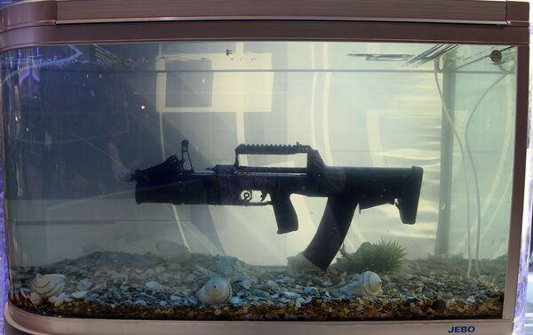 Fusil de asalto subacuático ADS - Sputnik Mundo
