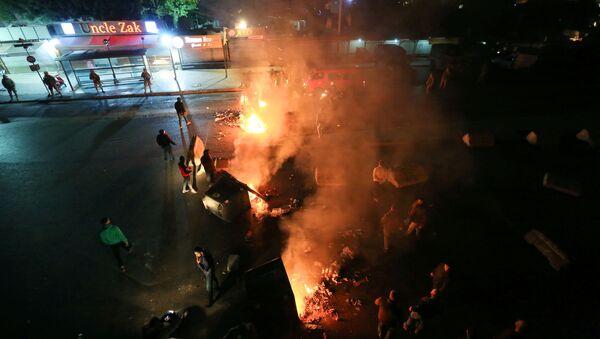 Protestas en Beirut - Sputnik Mundo