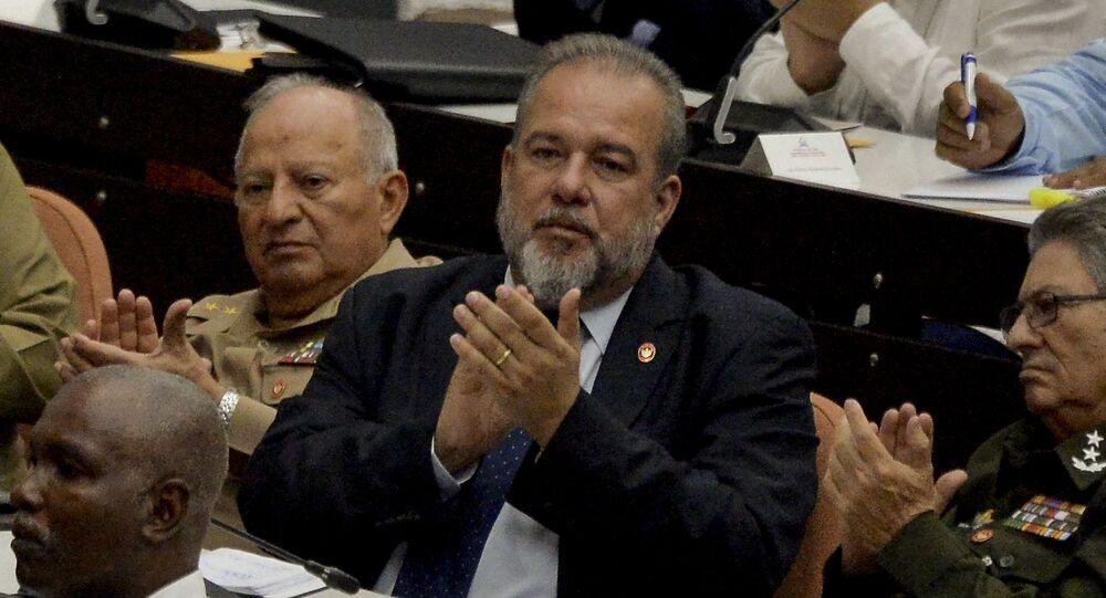 Manuel Marrero, nuevo primer ministro de Cuba