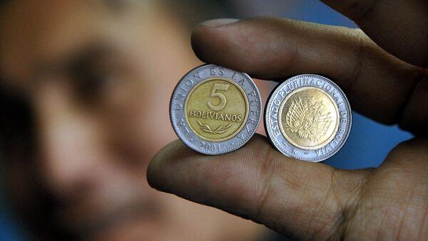 Monedas de Bolivia - Sputnik Mundo