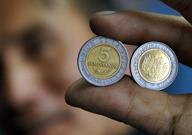 Monedas de Bolivia