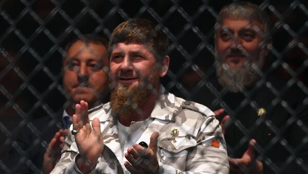 Ramzán Kadírov, el líder de Chechenia - Sputnik Mundo