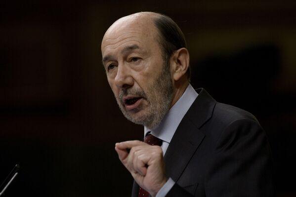 Alfredo Pérez Rubalcaba, político español - Sputnik Mundo