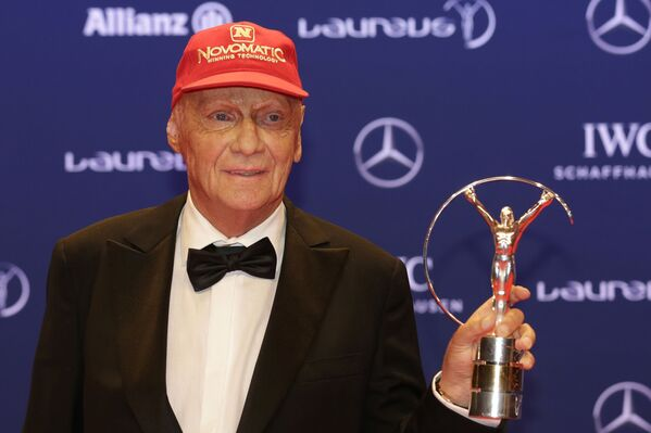Niki Lauda, piloto de Fórmula 1  - Sputnik Mundo