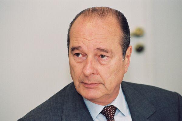 Jacques Chirac, político francés - Sputnik Mundo