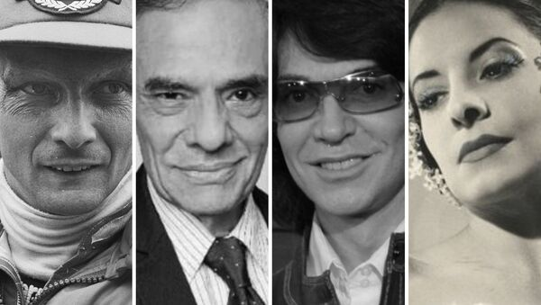 Niki Lauda, José José, Camilo Sesto y Alicia Alonso, fallecidos en 2019 - Sputnik Mundo