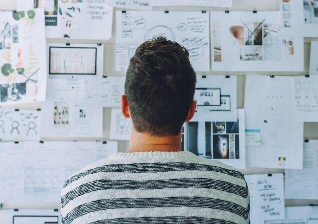 Un hombre en la oficina (imagen referencial)