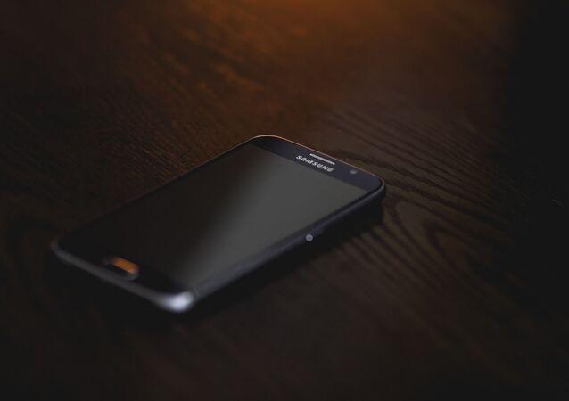 Un teléfono de Samsung