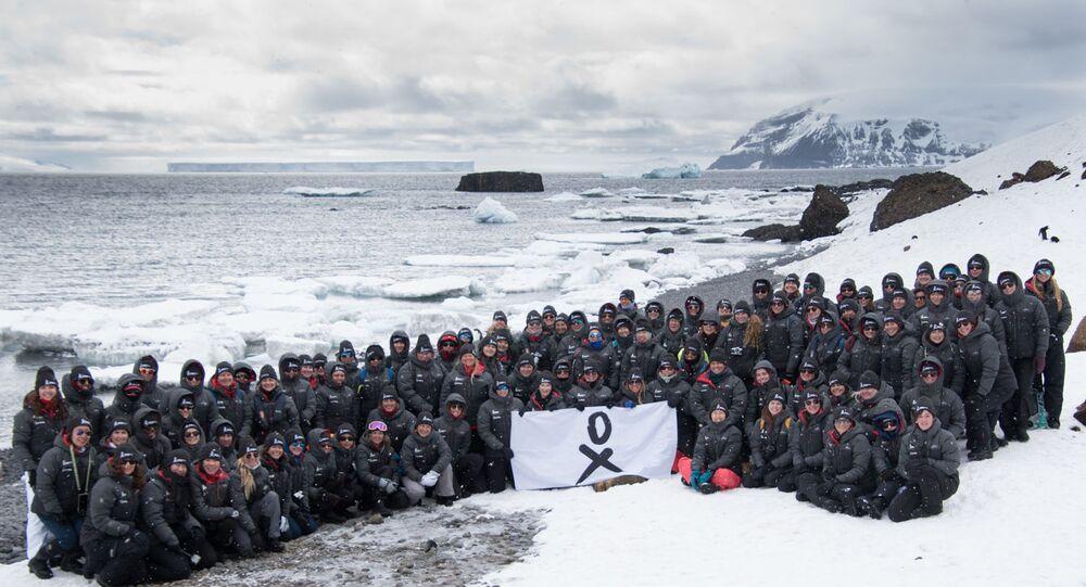Grupo completo de la expedición de Homeward Bound