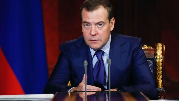 Dmitri Medvédev, el vicepresidente del Consejo de Seguridad de Rusia - Sputnik Mundo