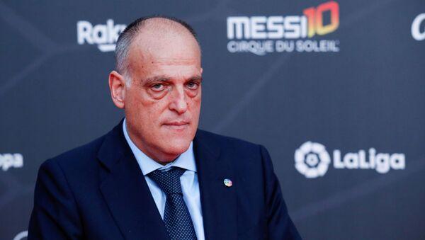 Javier Tebas, presidente de LaLiga - Sputnik Mundo