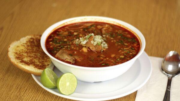 Comida mexicana con achiote - Sputnik Mundo