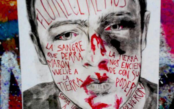 Arte de protesta en Chile - Floreceremos - Sputnik Mundo