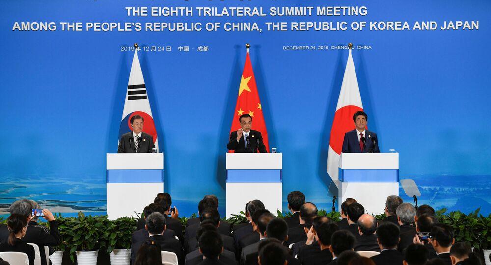 La cumbre tripartita de Corea del Sur, China y Japón