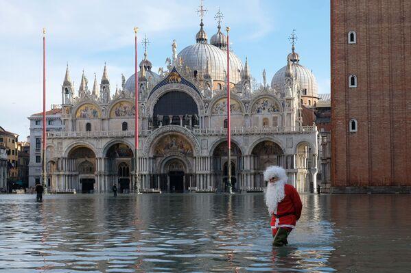 Inundación en Venecia - Sputnik Mundo