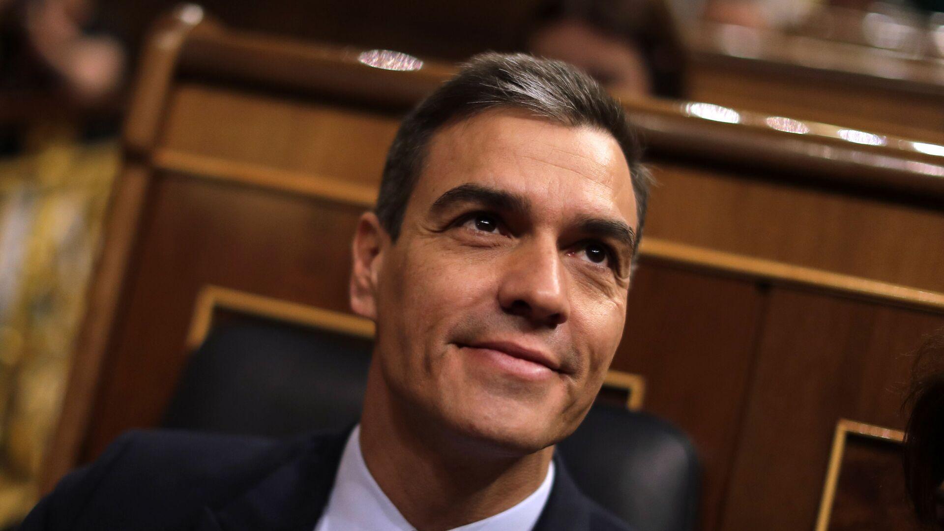 Pedro Sánchez, el presidente del Gobierno español en funciones - Sputnik Mundo, 1920, 19.04.2021