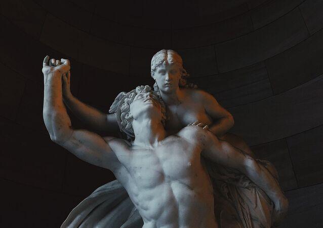 Una escultura (imagen referencial)