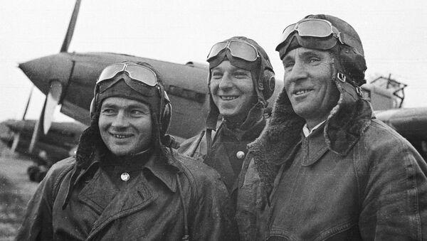 Aviadores soviéticos que participaron en la liberación de Corea - Sputnik Mundo